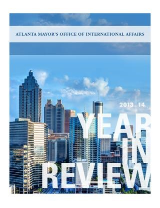 Mayor's Office of International Affairs Year In Review