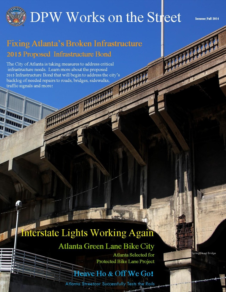 DPW Newsletter - Summer/Fall 2014