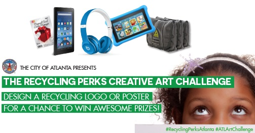 Recycling Perks Art Challenge