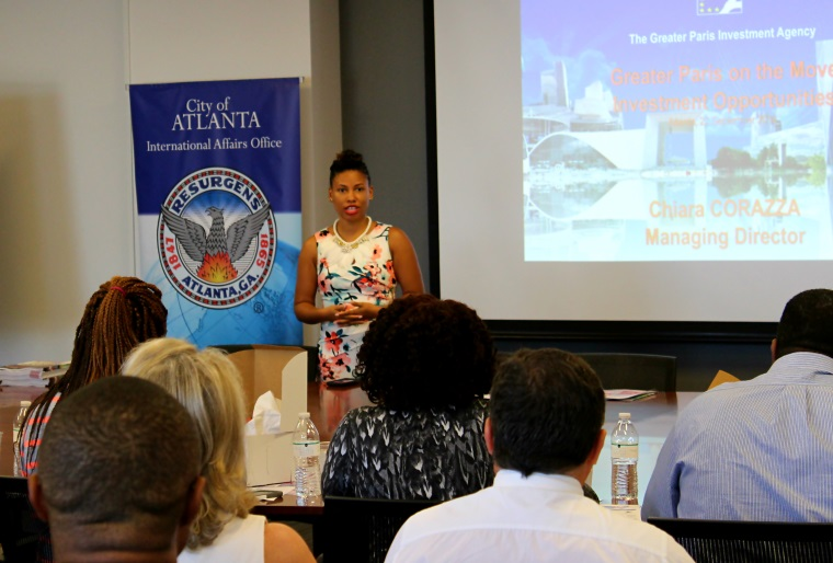 international affairs and hubstart paris hosted a business seminar for atlanta based business executives to discuss the business environment for greater atlanta tel aviv business
