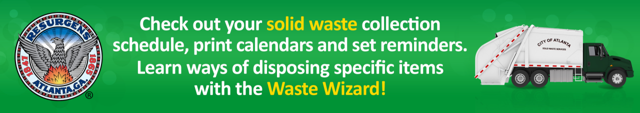 Updated_Solid Waste Collection Day Changes Web Banner 845 x 150