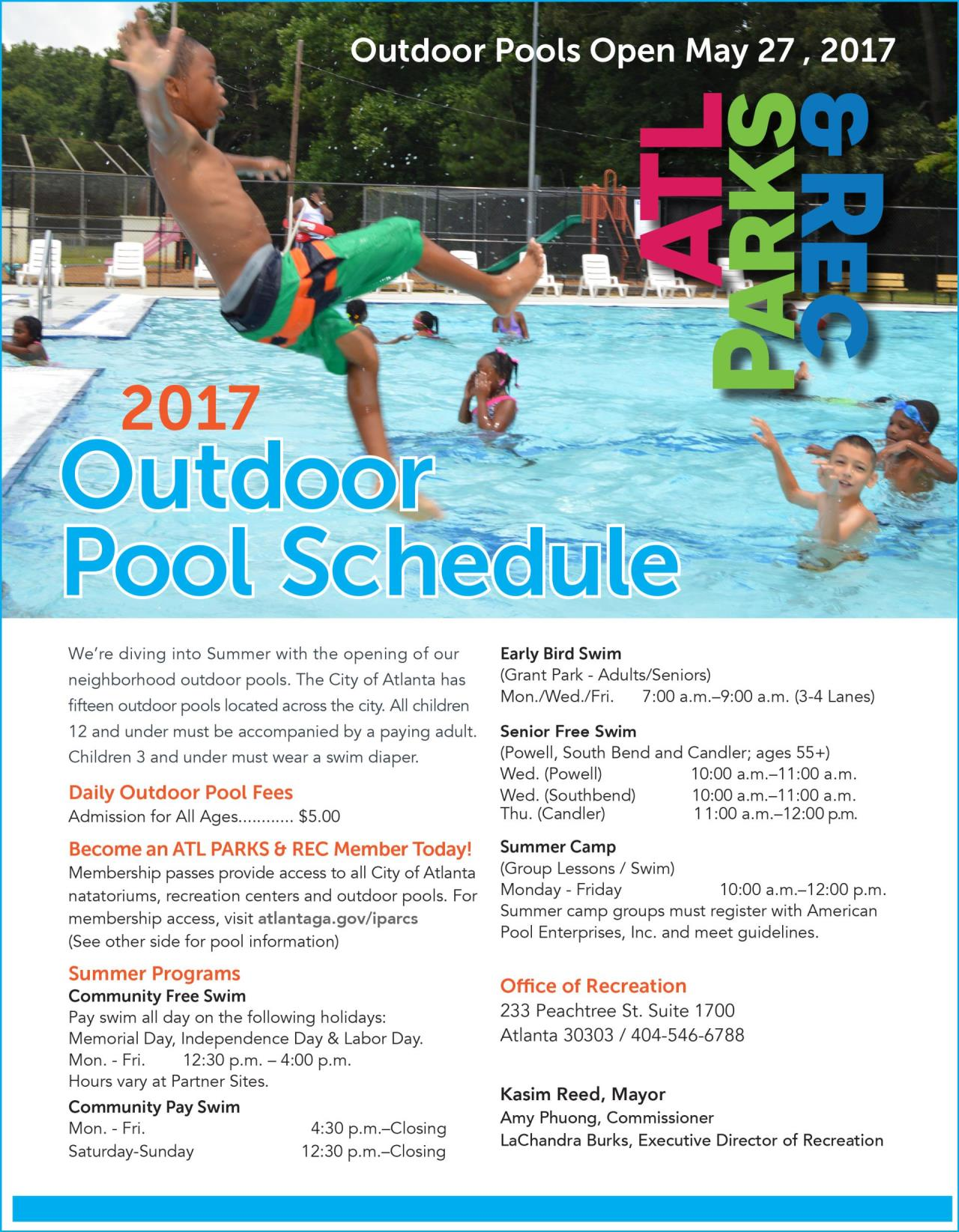 2017 Outdoor Pool Schedule-1