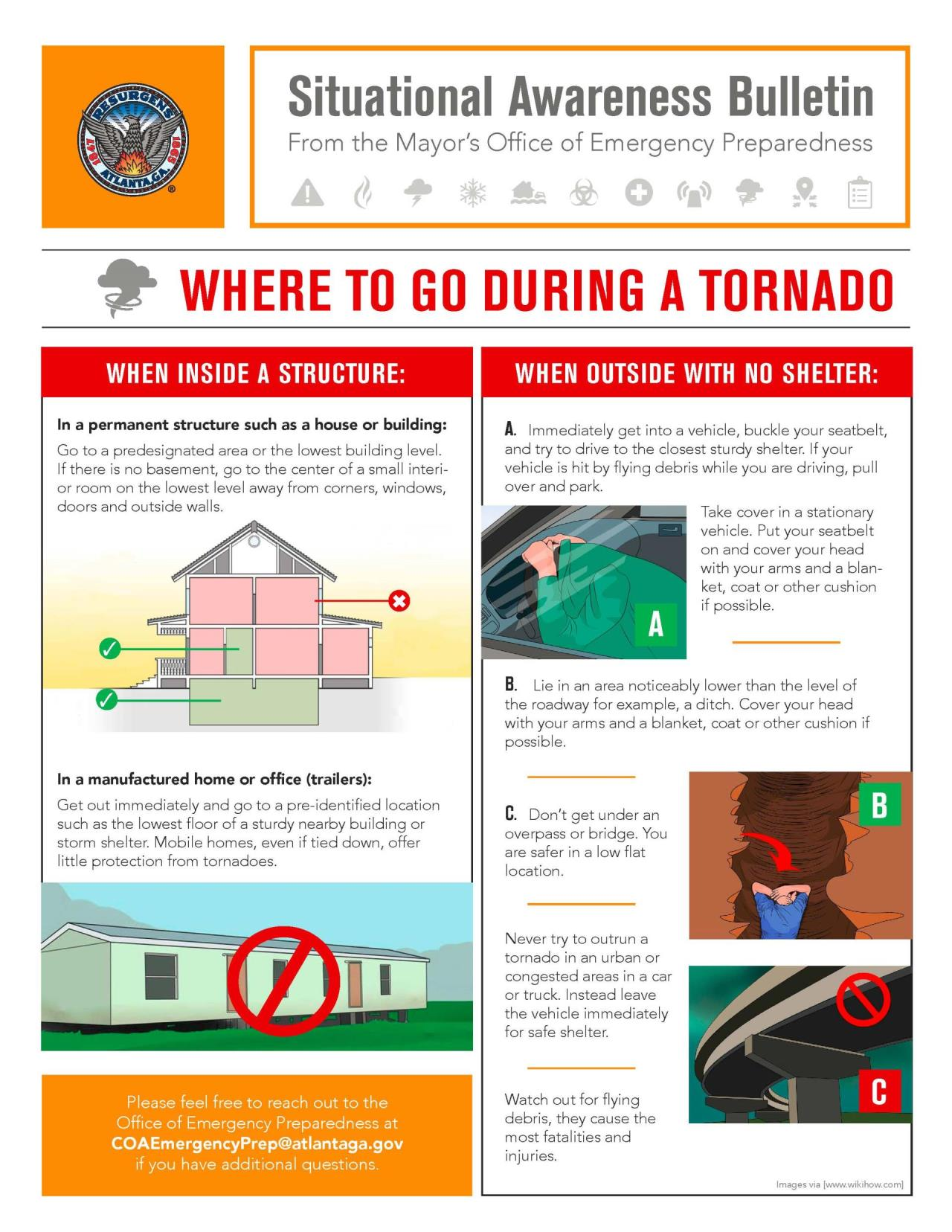 Where to go During a Tornado
