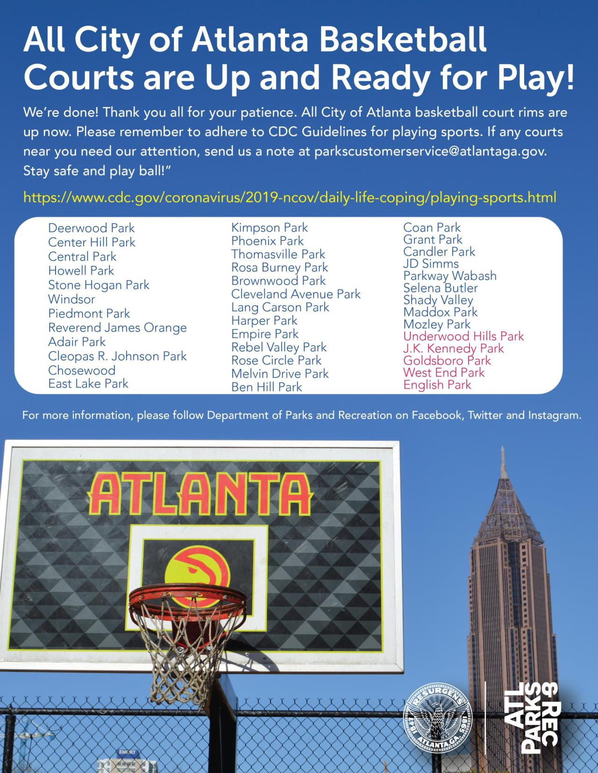 Indoor Basketball Courts Atlanta Ga